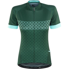 Bontrager Anara LTD Jersey Damen green kaleidoscope